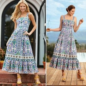 Antonio Melani Paige Mosaic Printed Dress